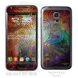Skincover® Galaxy S5 Mini - Wave Colors