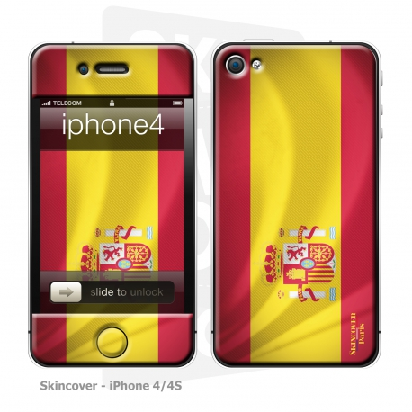 Skincover® iPhone 4/4S - Spain