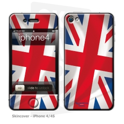 Skincover® iPhone 4/4S - Union Jack