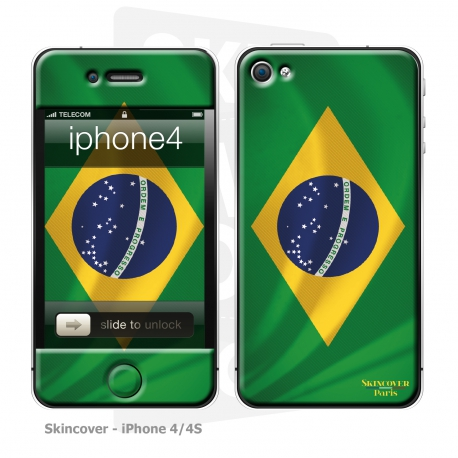 Skincover® iPhone 4/4S - Brazil