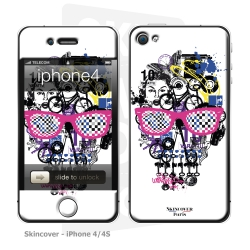 Skincover® iPhone 4/4S - Skull & Art