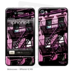 Skincover® iPhone 4/4S - Ap'Art Pink By Paslier