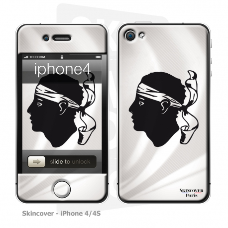 Skincover® iPhone 4/4S - Corsica