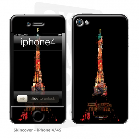 Skincover® iPhone 4/4S - Paris & Art By Paslier
