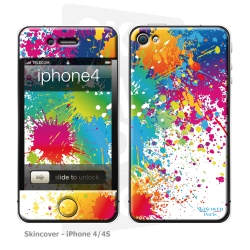 Skincover® iPhone 4/4S - Abstr'Art