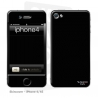 Skincover® iPhone 4/4S - Black