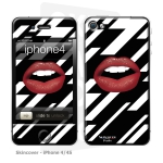 Skincover® iPhone 4/4S - Rouge Eclair
