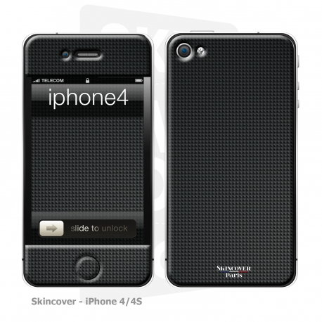 Skincover® iPhone 4/4S - Carbon