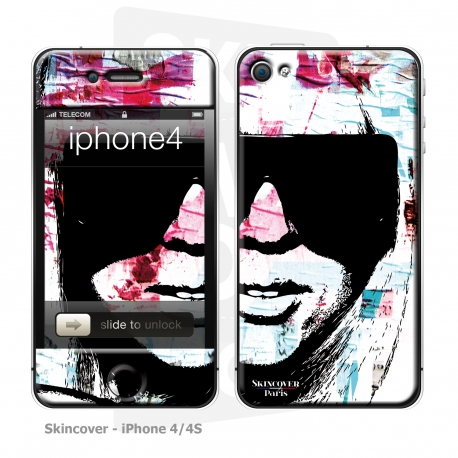 Skincover® iPhone 4/4S - Gag'Art By Paslier