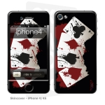 Skincover® iPhone 4/4S - 4 Aces