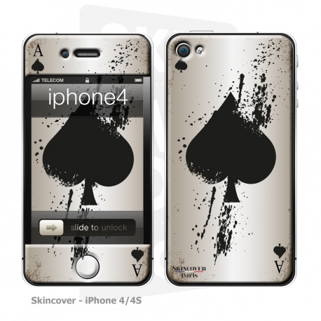 Skincover® iPhone 4/4S - Ace Of Spade