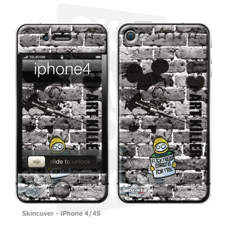 Skincover® iPhone 4/4S - Art Killer