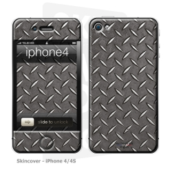 Skincover® iPhone 4/4S - Metal 1