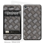 Skincover® iPhone 4/4S - Metal 2