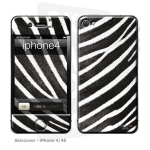 Skincover® iPhone 4/4S - Zebre