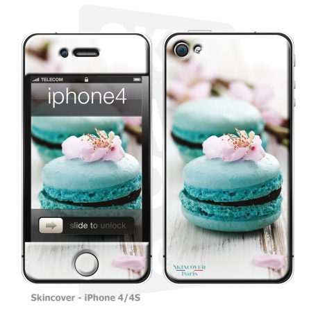 Skincover® iPhone 4/4S - Macaron Flowers