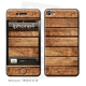 Skincover® iPhone 4/4S - Wood