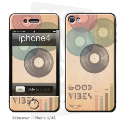 Skincover® iPhone 4/4S - Good Vibe