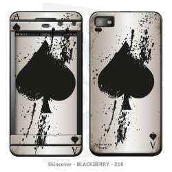 Skincover® Blackberry Z10 - Ace Of Spade