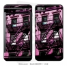 Skincover® Blackberry Z10 - Ap'Art Pink By Paslier