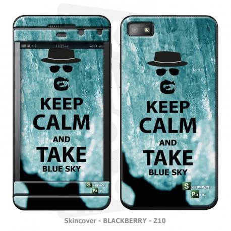 Skincover® Blackberry Z10 - Bluesky