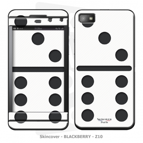 Skincover® Blackberry Z10 - Domino White
