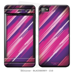Skincover® Blackberry Z10 - Girly Strip