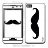 Skincover® Blackberry Z10 - Moustache B&W