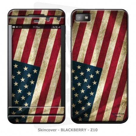 Skincover® Blackberry Z10 - Old Glory