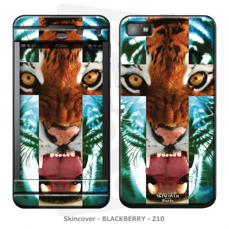 Skincover® Blackberry Z10 - Tiger Cross