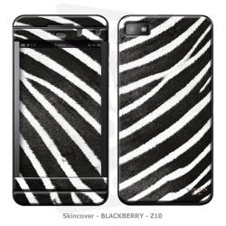 Skincover® Blackberry Z10 - Zebre