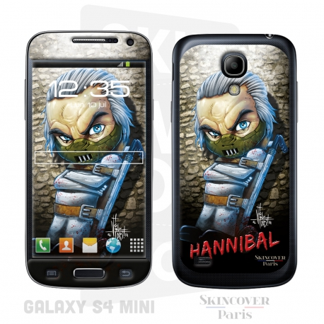 Skincover® Galaxy S4 Mini - Baby Hannibal  By Vinz El Tabanas