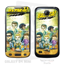 Skincover® Galaxy S4 Mini - Big Bazinga  By Vinz El Tabanas