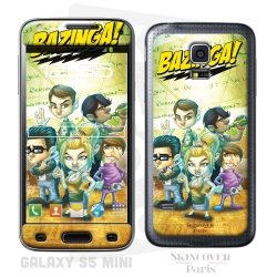 Skincover® Galaxy S5 Mini - Big Bazinga  By Vinz El Tabanas