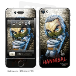 Skincover® iPhone 4/4S - Baby Hannibal By Vinz El Tabanas