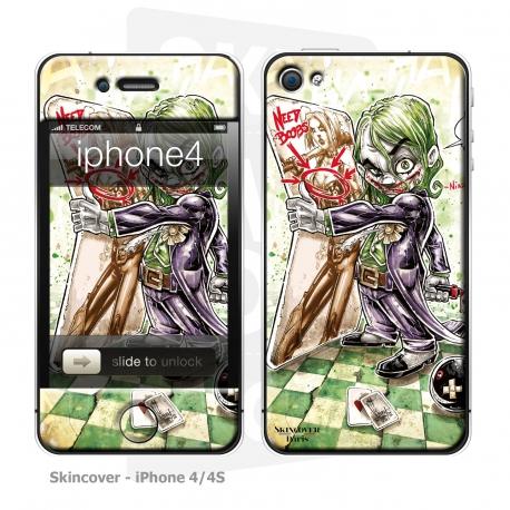Skincover® iPhone 4/4S - Baby Joker By Vinz El Tabanas