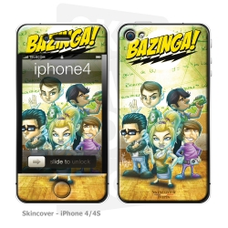 Skincover® iPhone 4/4S - Big Bazinga By Vinz El Tabanas