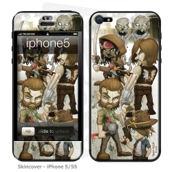 Skincover® Iphone 5/5S - Walking D By Vinz El Tabanas