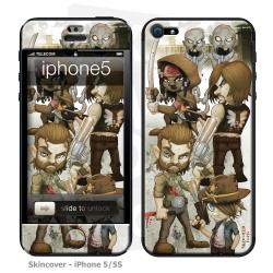 Skincover® iPhone 5 / 5S / 5SE - Walking D By Vinz El Tabanas