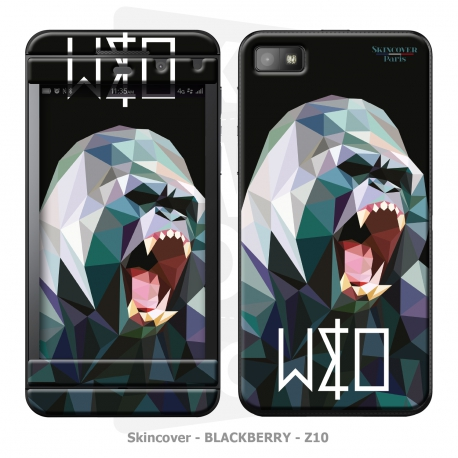 Skincover® Blackberry Z10 - Wild Life Gorilla By Wize x Ope