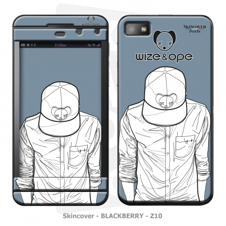 Skincover® Blackberry Z10 - Wize Men by Wize x Ope