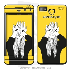 Skincover® Blackberry Z10 - Wize Women by Wize x Ope