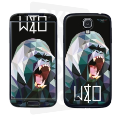 Skincover® Galaxy S4 - Wild Life Gorilla By Wize x Ope