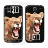 Skincover® Galaxy S4 - Wild Life Lion By Wize x Ope