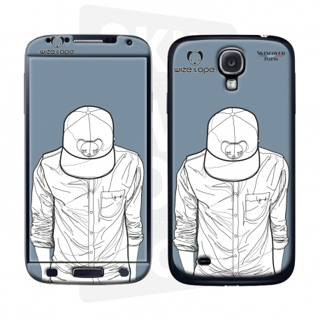 Skincover® Galaxy S4 - Wize Men by Wize x Ope