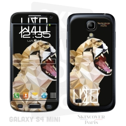 Skincover® Galaxy S4 Mini - Wild Life Tiger By Wize x Ope