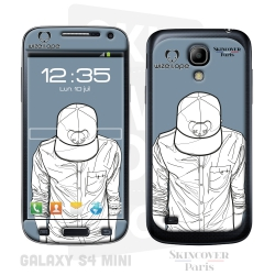 Skincover® Galaxy S4 Mini - Wize Men by Wize x Ope