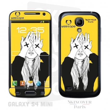 Skincover® Galaxy S4 Mini - Wize Women by Wize x Ope