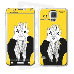 Skincover® Galaxy S5  - Wize Women by Wize x Ope