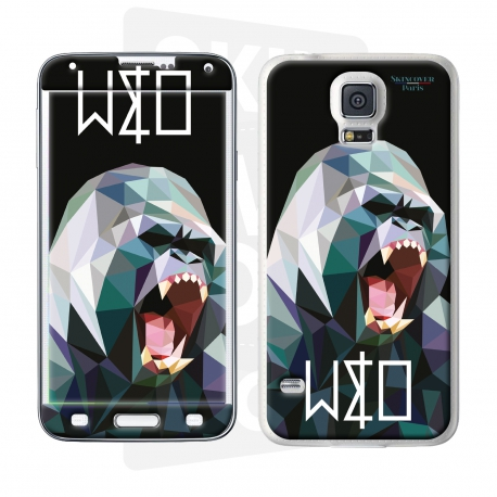 Skincover® Galaxy S5 - Wild Life Gorilla By Wize x Ope